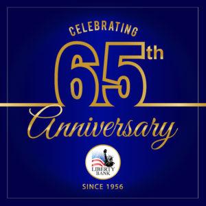 Liberty Bank of Utah is celebrating 65 years